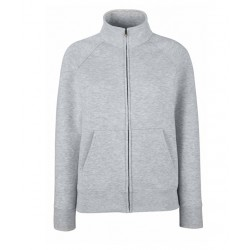 BLUZA PREMIUM LADY-FIT SWEAT JACKET