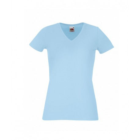KOSZULKA LADY-FIT V-NECK