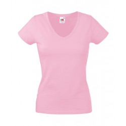 KOSZULKA LADY FIT VALUEWEIGHT V-NECK
